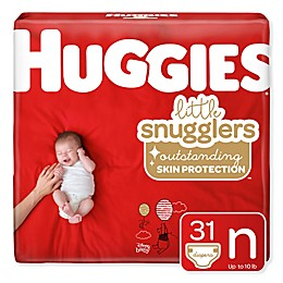 Huggies® Little Snugglers 31-Count Newborn Jumbo Pack Diapers