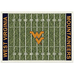West Virginia University Home Field Rug