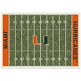 University of Miami Home Field Rug
