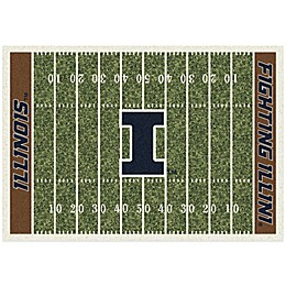 University of Illinois Home Field Rug
