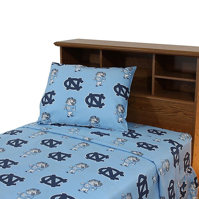 Alternate image 1 for University of North Carolina Sheet Set