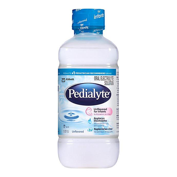 Alternate image 1 for Pedialyte® 33.8 oz. Unflavored Electrolyte Drink