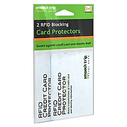 SmoothTrip RFID Credit Card Protectors 2-Pack