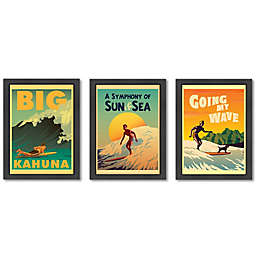 Americanflat Surf-Themed Digital Print Wall Art