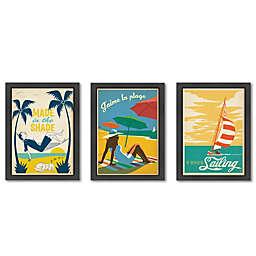 Americanflat Seaside-Themed Digital Print Wall Art