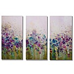 Meadow  Canvas Art (Set of 3)