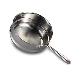 All-Clad Stainless Steel 3 qt. Universal Double Boiler Insert