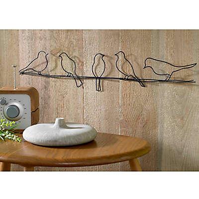 Bird on a Wire Metal Wall Art