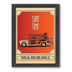 Americanflat Surf Time Wall Décor