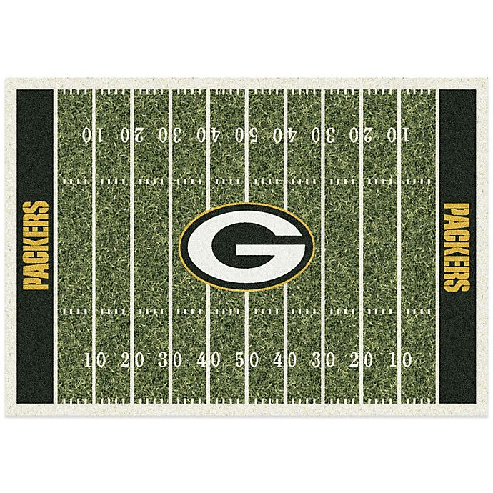 Nfl Green Bay Packers Home Field Rug Bed Bath Beyond