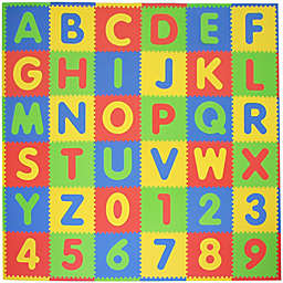 Tadpoles™ by Sleeping Partners ABC 36-Piece Playmat Set in Primary Multicolor
