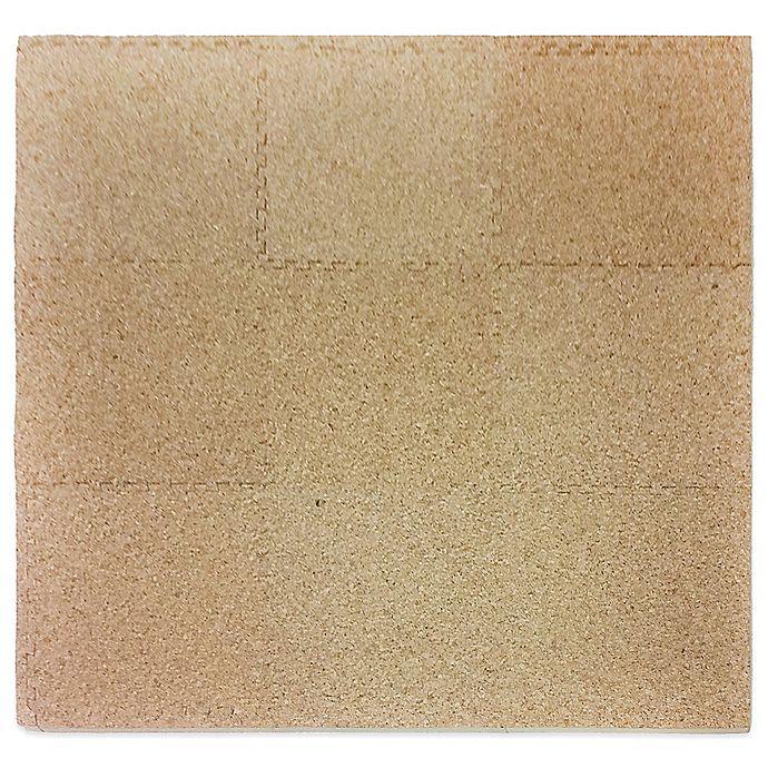 Alternate image 1 for Tadpoles™ by Sleeping Partners 9-Piece Foam Playmat Set in Cork