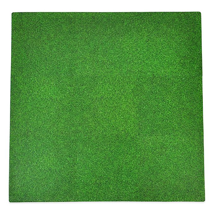 Tadpoles By Sleeping Partners Grass Print 9 Piece Floor Mat Set