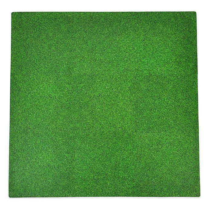 Alternate image 1 for Tadpoles™ by Sleeping Partners Grass Print 9-Piece Floor Mat Set