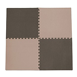 Tadpoles™ by Sleeping Partners 4-Piece Playmat Set in Taupe/Brown