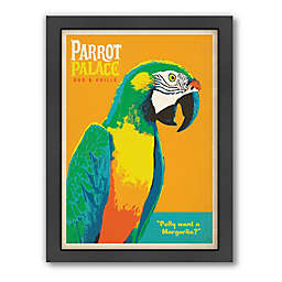 Americanflat Parrot Palace Digital Print Wall Art