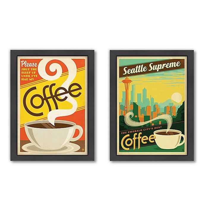 Americanflat Coffee Digital Print Wall Art