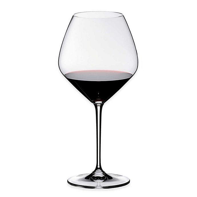 Alternate image 1 for Riedel® Heart to Heart Pinot Noir Wine Glasses (Set of 4)