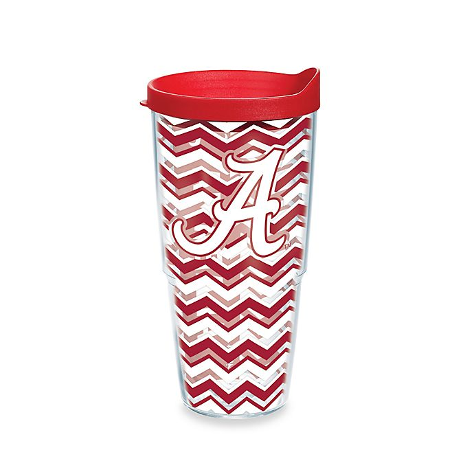 Alternate image 1 for Tervis® University of Alabama 24 oz. Chevron Wrap Tumbler with Lid