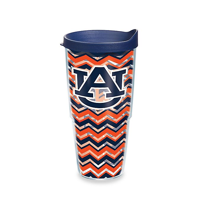 Alternate image 1 for Tervis® Auburn University Tigers 24 oz. Chevron Wrap Tumbler with Lid