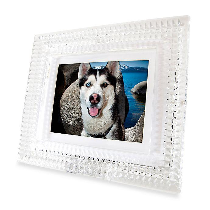 Waterford® Crystal 8-Inch Digital Photo Frame | buybuy BABY