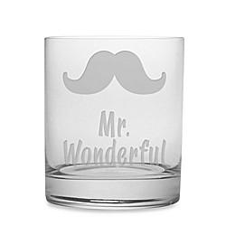 Susquehanna Glass Etched Novelty Barware \