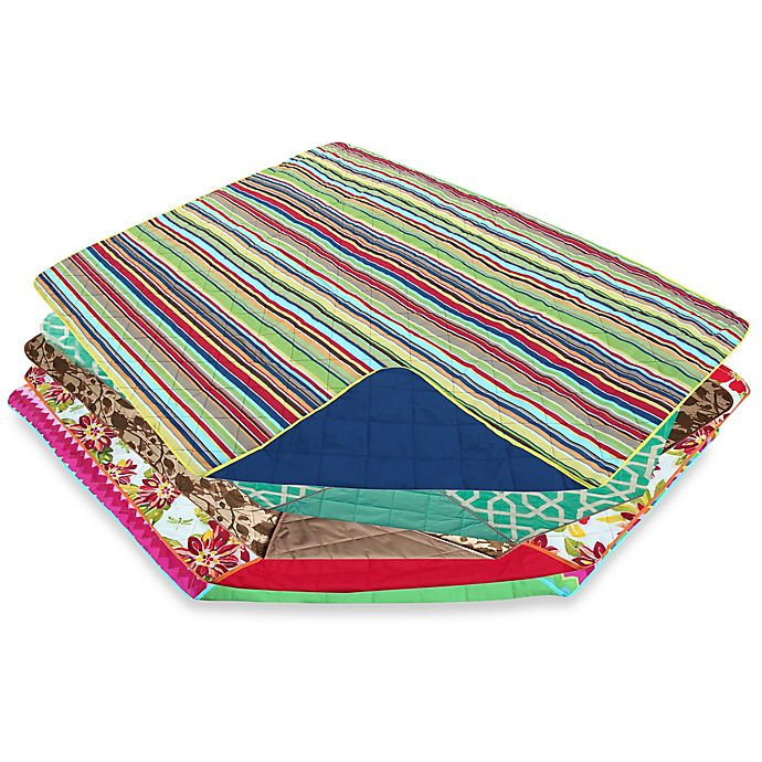 Alternate image 1 for Outdoor Water Repellent Travel Throw Blanket