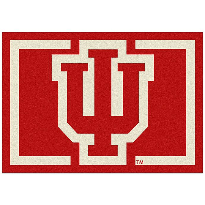 Alternate image 1 for Indiana University 3-Foot 10-Inch x 5-Foot 4-Inch Small Spirit Rug
