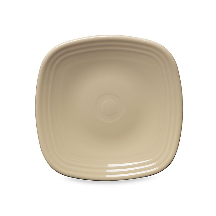 Alternate image 1 for Fiesta® Square Salad Plate in Ivory