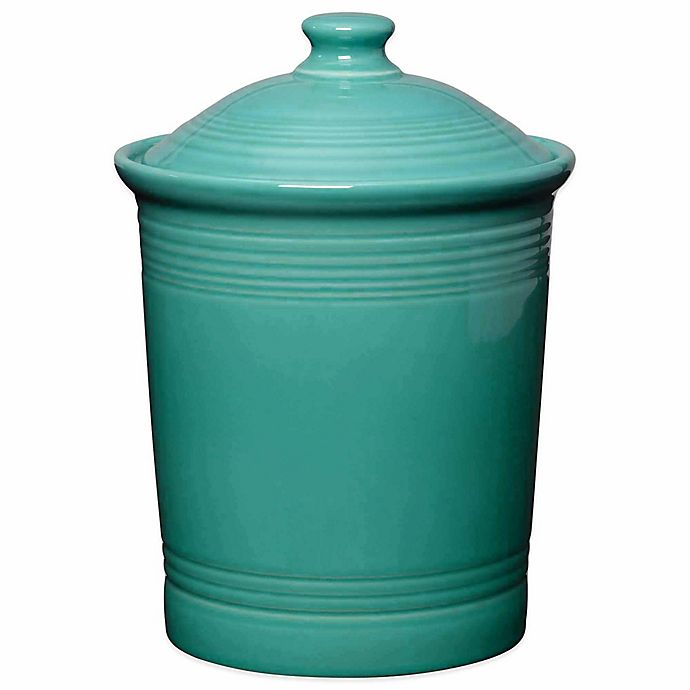 Alternate image 1 for Fiesta® Large Canister in Turquoise