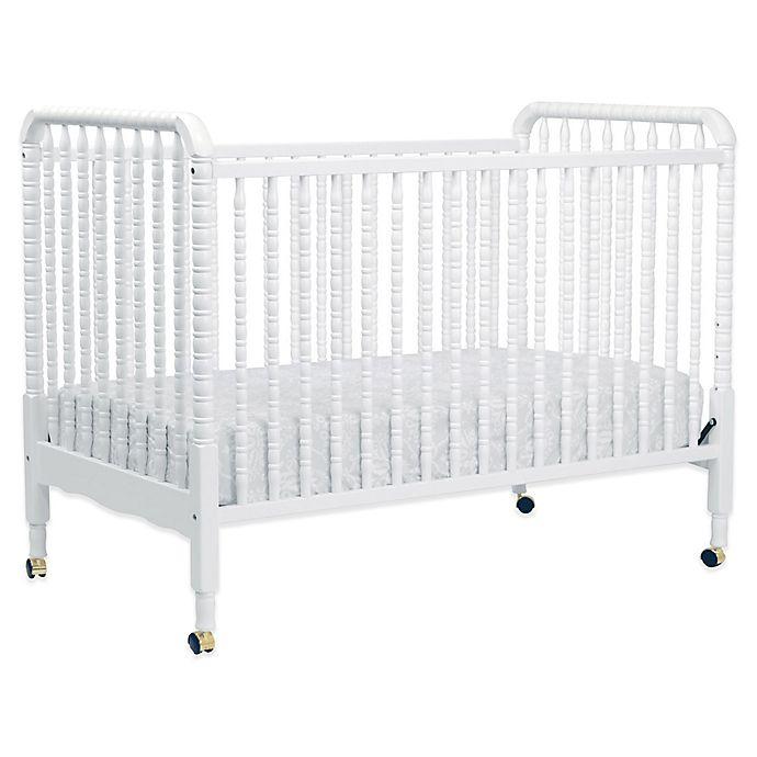Alternate image 1 for DaVinci Jenny Lind 3-in-1 Convertible Crib in White
