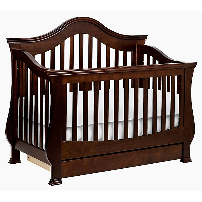 Alternate image 1 for Million Dollar Baby Classic Ashbury 4-in-1 Convertible Crib in Espresso