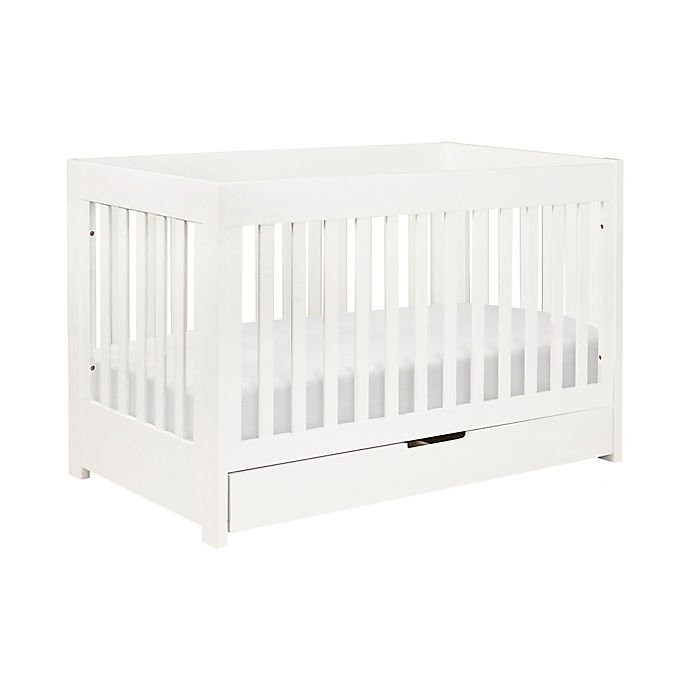 Alternate image 1 for Babyletto Mercer 3-in-1 Convertible Crib in White