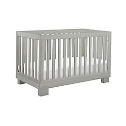 Babyletto Modo 3-in-1 Convertible Crib in Grey