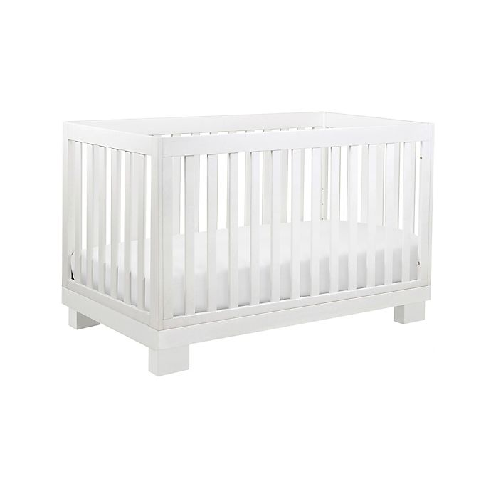 babyletto modo 3 in 1 convertible crib in white buybuy baby 87242