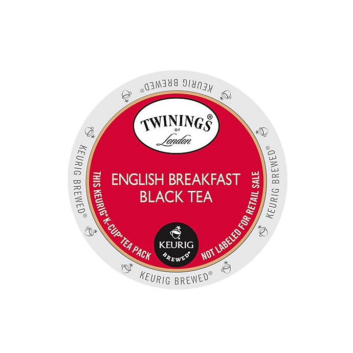 Alternate image 1 for Keurig® K-Cup® Pack 18-Count Twinings of London® Classic English Breakfast Tea