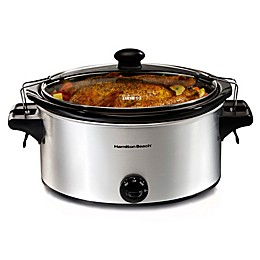 Hamilton Beach® Stay or Go 6-Quart Slow Cooker
