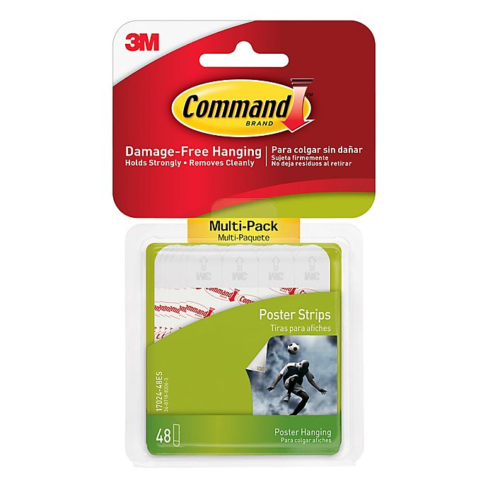 Alternate image 1 for 3M Command™ 48-Pack Poster Strips