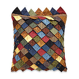 Donna Sharp Midnight Bear Roof Tile Square Throw Pillow