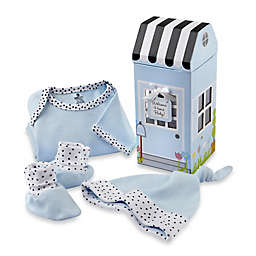 Baby Aspen 3-Piece Welcome Home Baby Layette Set in Blue