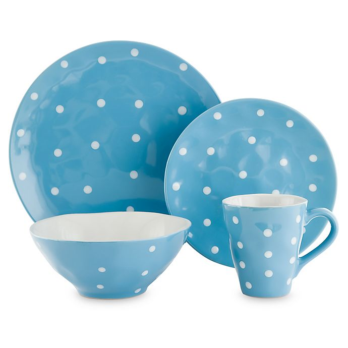 Maxwell Williams Sprinkle Dinnerware Collection In Sky Bed Bath