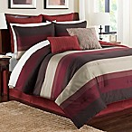 Hudson Queen Comforter Set in Red