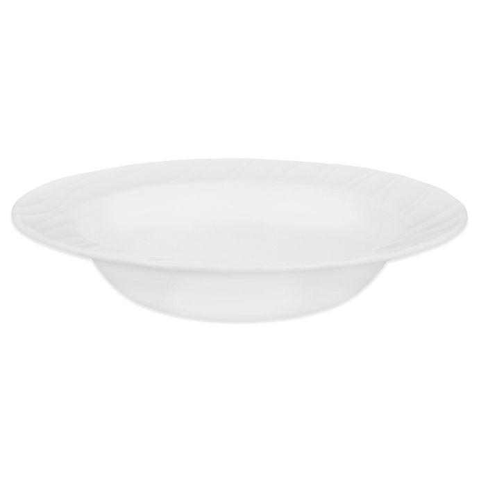 Alternate image 1 for Corelle® Boutique Swept 28 oz. Entree Bowl in White