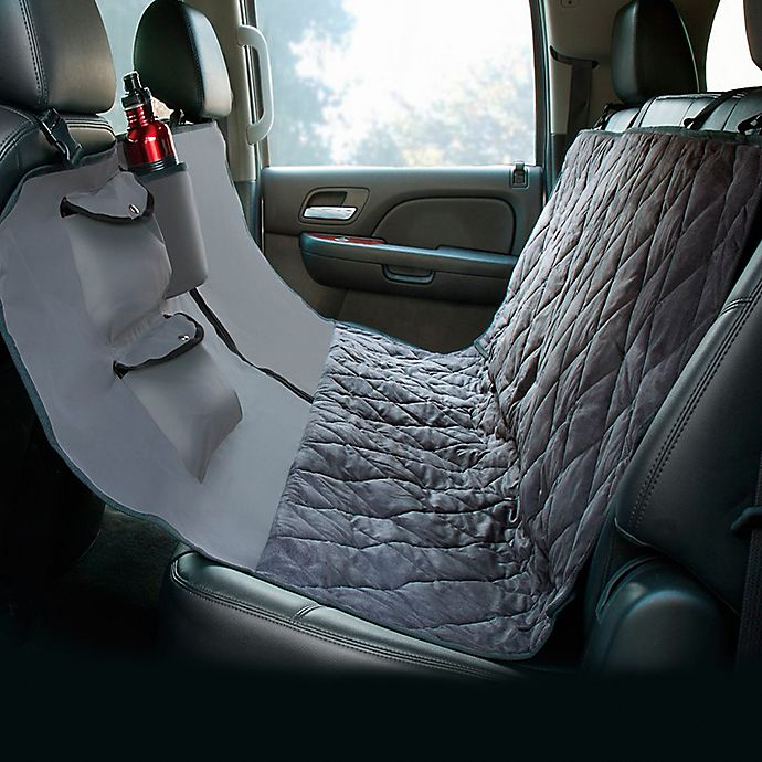 Hammock Style Deluxe Quilted Micro Suede Car Seat