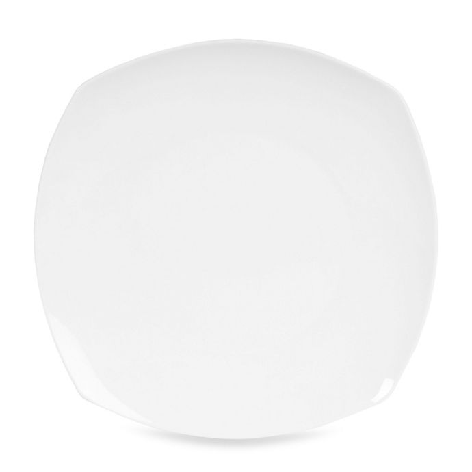 Alternate image 1 for Nevaeh White® by Fitz and Floyd® Soft Square Appetizer Plate
