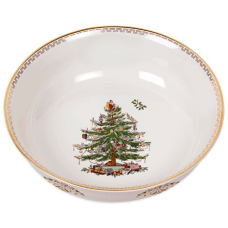 Spode Christmas Tree Gold Large Bowl Bed Bath Beyond