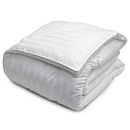 Damask Stripe 500 Thread Count Down Alternative Comforter