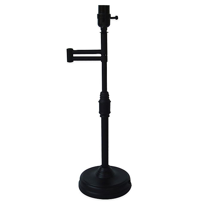 Alternate image 1 for Mix & Match Large 21-1/2-Inch Swing-Arm Table Lamp Base in Antique Bronze