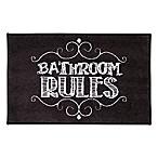 Avanti Chalk It Up Bath Rug
