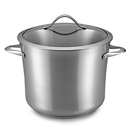 Calphalon® Contemporary Stainless Steel 12-Quart Stockpot & Cover